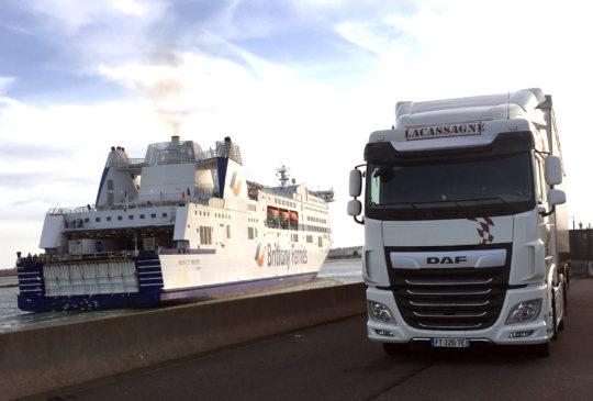 Lacassagne spécialiste du Transport Trans Manche