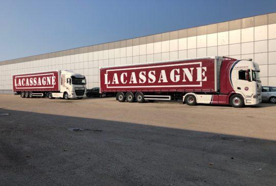 Transports Lacassagne transport routier de marchandises